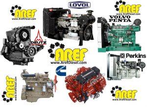 انواع موتورهای دیزل ولوو کامینز پرکینز دویتس لوول موتورسازان ایدم